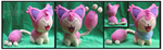 Skitty Custom Plush by Nazegoreng