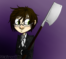 Alan Humphries Chibi by Simply-Psycho