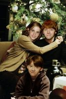 Hermione, Ron and son by KMeaghan