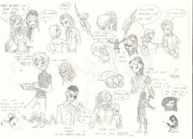 Fanfic sketches by bigdad