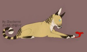 Lion-wolf by Shesterrni
