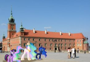 Princesses at the Royal Castle, Warsaw by laopokia