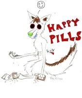 Happy Pills by explodingmuffins