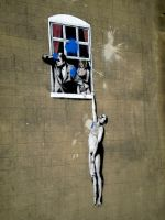 Bansky by KatieAliceWoodmore