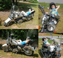 Coolest Biker Ever by redtailhawker