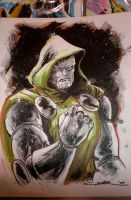 Dr. Doom NYCC sketch by Cinar