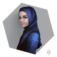 Hijaab Girl by frixinthepixel