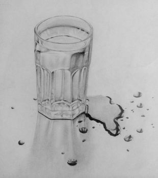Glass of Water by ArtCromm