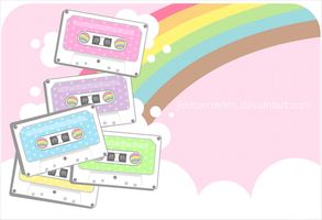 Rainbow Tapes by jesicamarlen