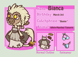 Deviant Crossing App - Bianca by Kosukie