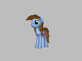 3D bluepony 2 by Andrea-Perry