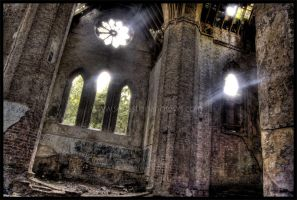Abandoned Church 4 by AbsentAsI