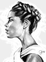 Profile sketch 02 by JonathanHankin