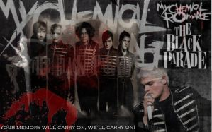 The Black Parade Will Carry On by Ressy8D