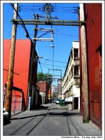 Chinatown alley Vancouver by anotherview