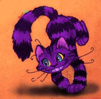 The Little Cheshire Cat by Tabbytooner