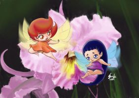 small fairies by saulom