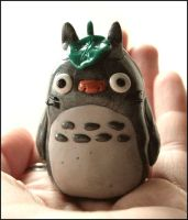 Fimo Totoro by ReanDeanna