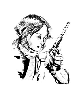 RogueOne - Ink by BasenjiS7