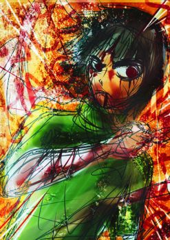 Rock Lee ::AnGsT:: by rasanime