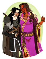Vax and Gilmore by naomi-makes-art73