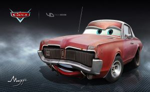 Maggie Disney pixar cars_yasidDESIGN by yasiddesign