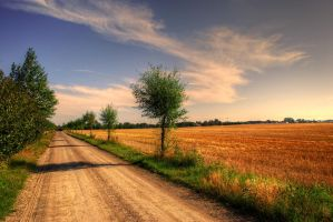 Abandon Road HDR by MarieAndersson