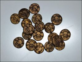 Pirate Doubloons by Olovni