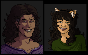 humanstuck ghb and meulin by ippylovesyou