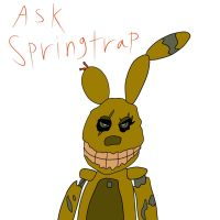 Ask Springtrap by Rexart35