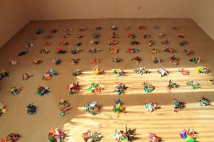 1000 cranes_counting by Fricky-Blue-Eye