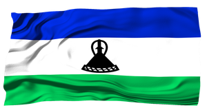 Flags of the World: Lesotho by MrAngryDog