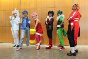 Our Sonic Group for AFA2011 by inkstainedpapers