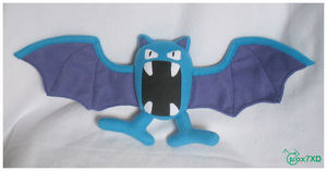 Golbat Plush by Fox7XD