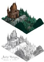 BG Study: The castle by maina