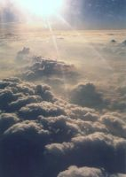 Above the clouds... by jabulls