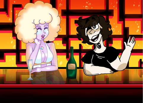 Hanging out In the Club by DistortedWonderland