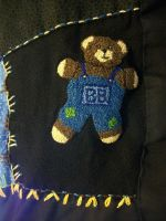 Personal Quilt Brother Bear Patch by grandmoonma
