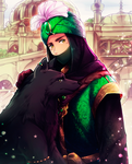 APH: 2P Ottoman Empire and black wolf by Kay-I