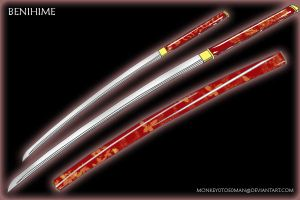 Onihime's Sword: Benihime by MonkeyTheMan
