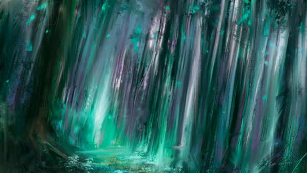 The emerald forest by Byblio