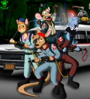 Halloween '13: S.T.A.R.Z The Real Ghostbusters by TheEdMinistrator765