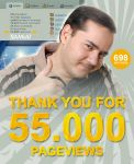 50.000 pageviews by Stelthman