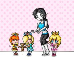nanny wii fit trainer by babyblisblink