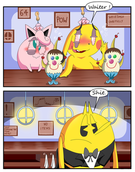 Pac-Man just took it. by Alessia-Nin10doh