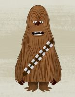 Chewbacca by TheBeastIsBack