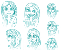 Ann: Expression Concepts by Danimi