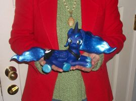 LARGE 16 inch PRINCESS LUNA  sculpture 4 sale 5 by MadPonyScientist