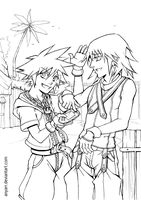 KH: Hey, come and play with us by Anyarr