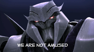 megatron is not amused! by tritie